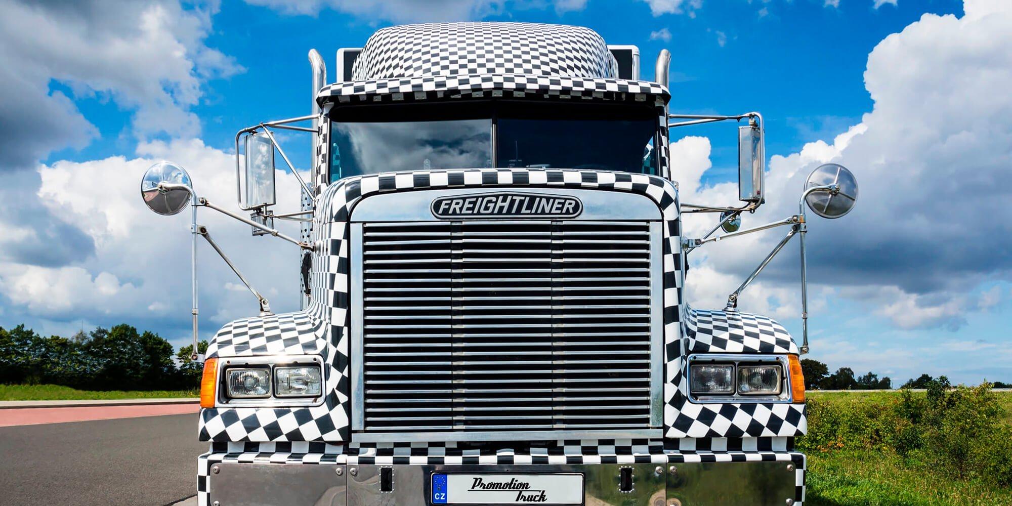 Americký truck Freightliner