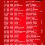 Vánoční kamion Coca-Cola 2016 trasa