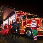 Vánoční kamion Coca-Cola 2016