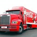 Christmas Truck Coca-Cola